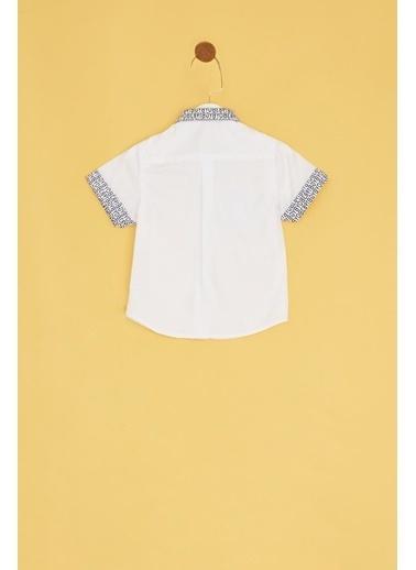 BG Baby Gömlek Beyaz
